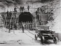 Workers at Tunnel 11