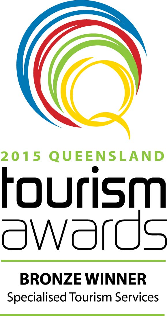 Queensland Tourism Award 2015 Bronze winner